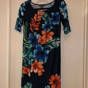 Tommy Bahama tropical print dress, floral dress